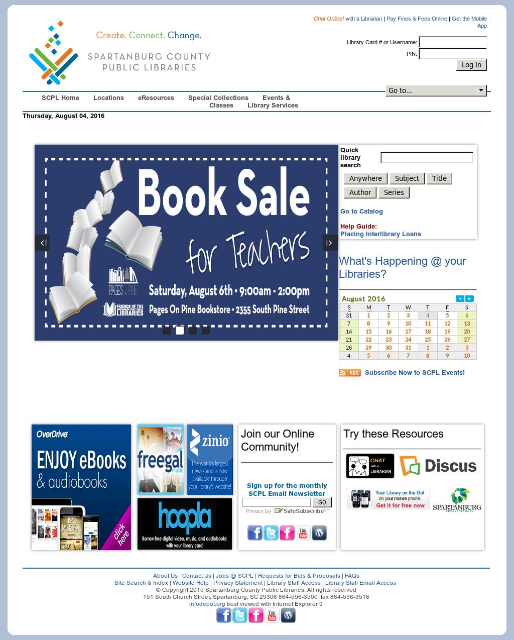 Spartanburg County Public Libraries Competitors, Revenue and