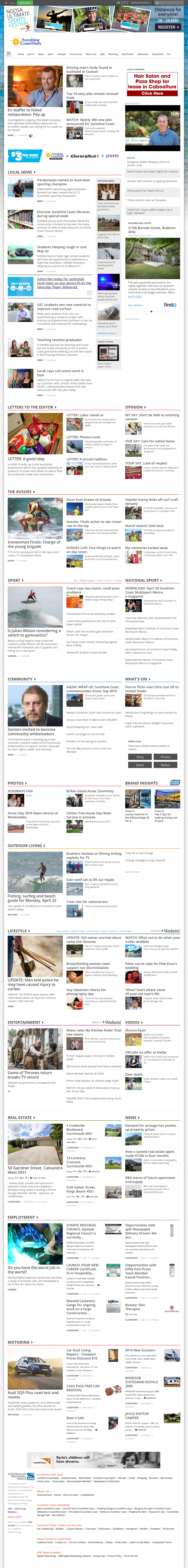 Buderim Chronicle Competitors Revenue And Employees Owler Company Profile