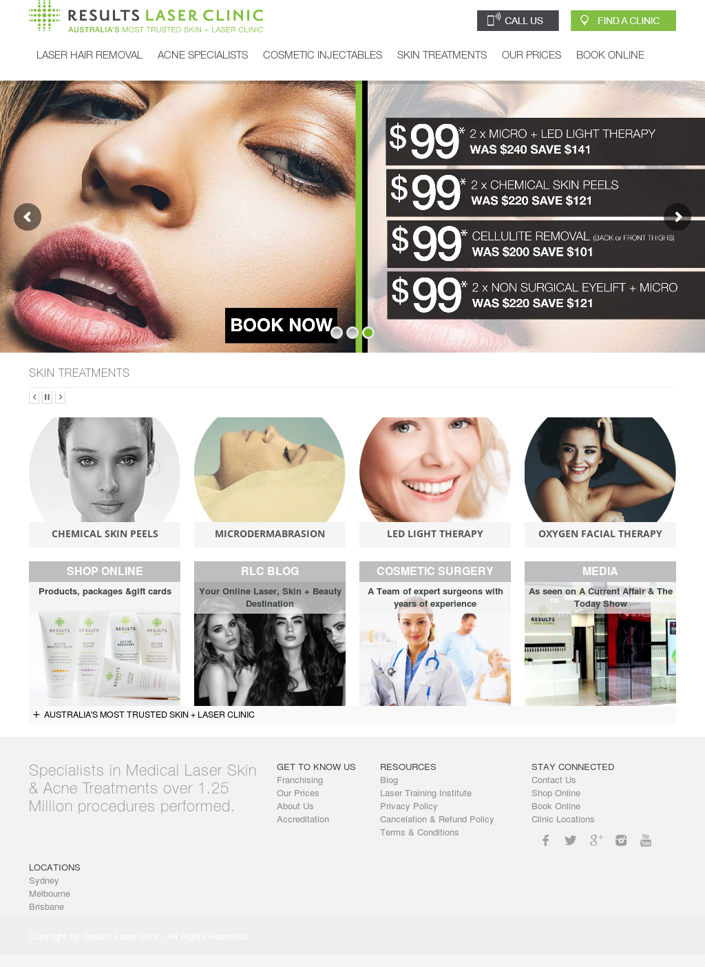Results Laser Hair Removal Clinic Competitors, Revenue and
