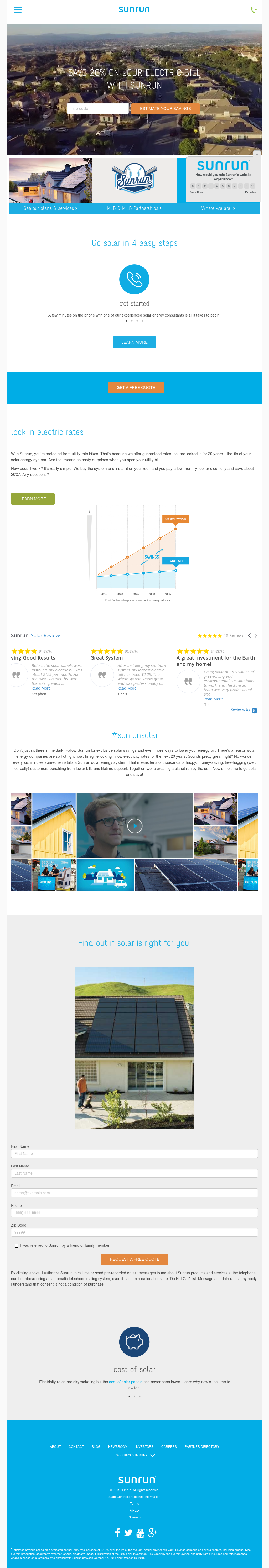 Sunrun Competitors, Revenue and Employees - Owler Company