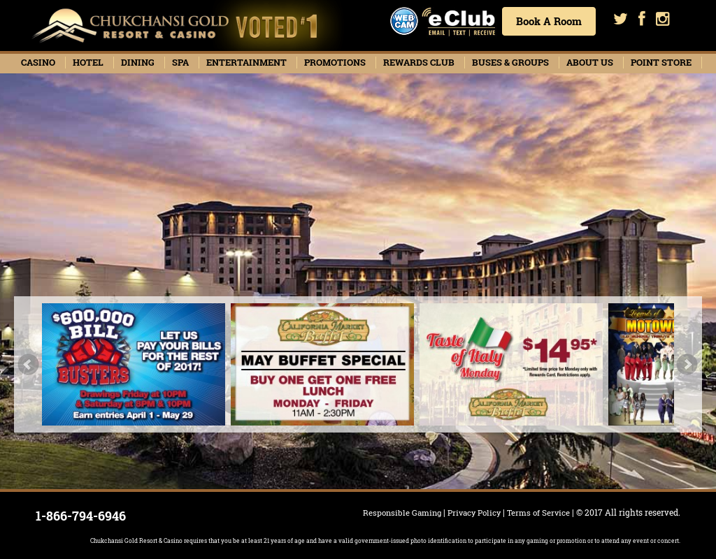 Chukchansi Gold Resort Competitors Revenue And Employees Owler