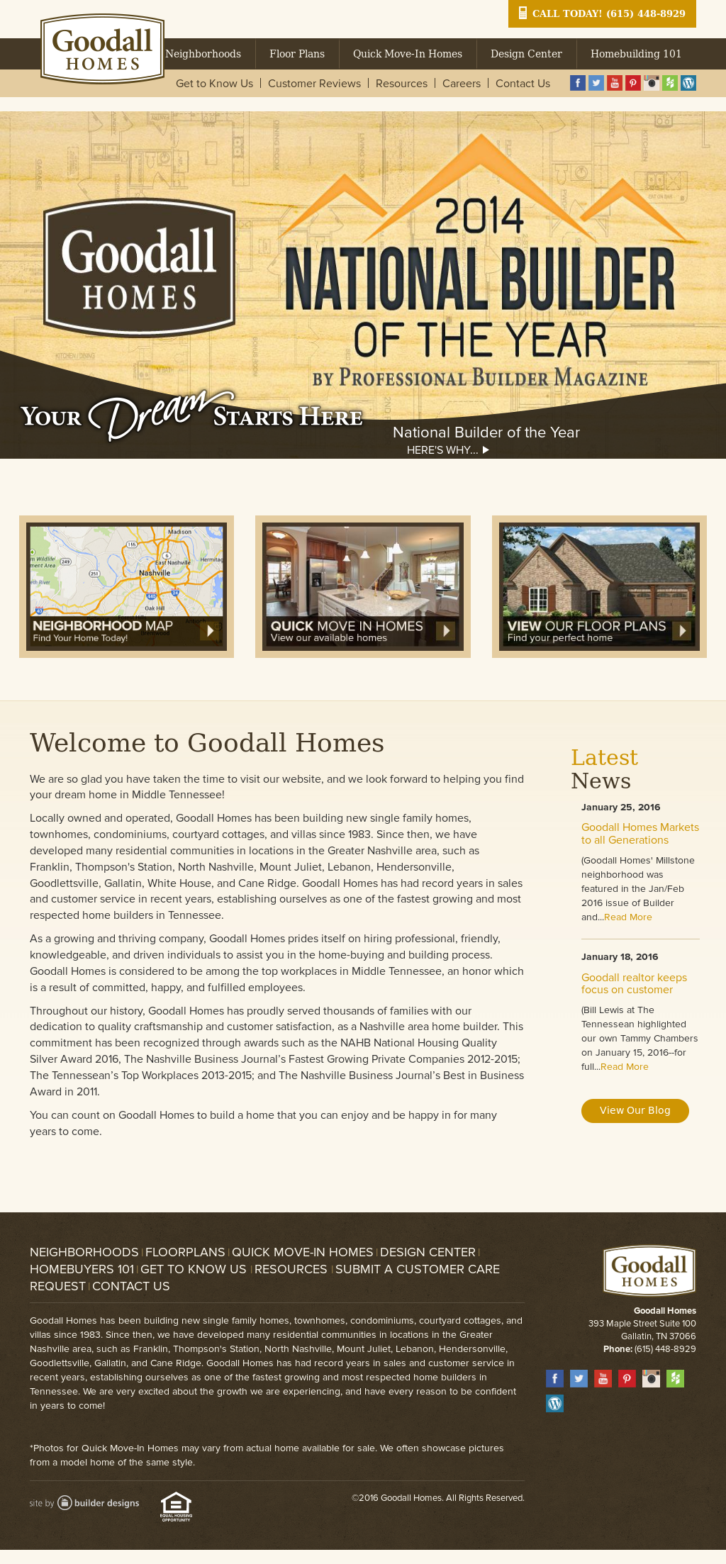 Awesome Goodall Homes Design Center Gallery - Decoration Design ...