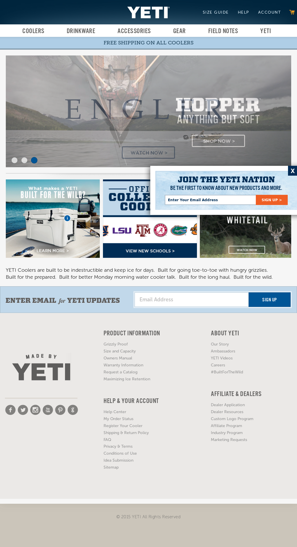 YETI Coolers Competitors, Revenue and Employees - Owler