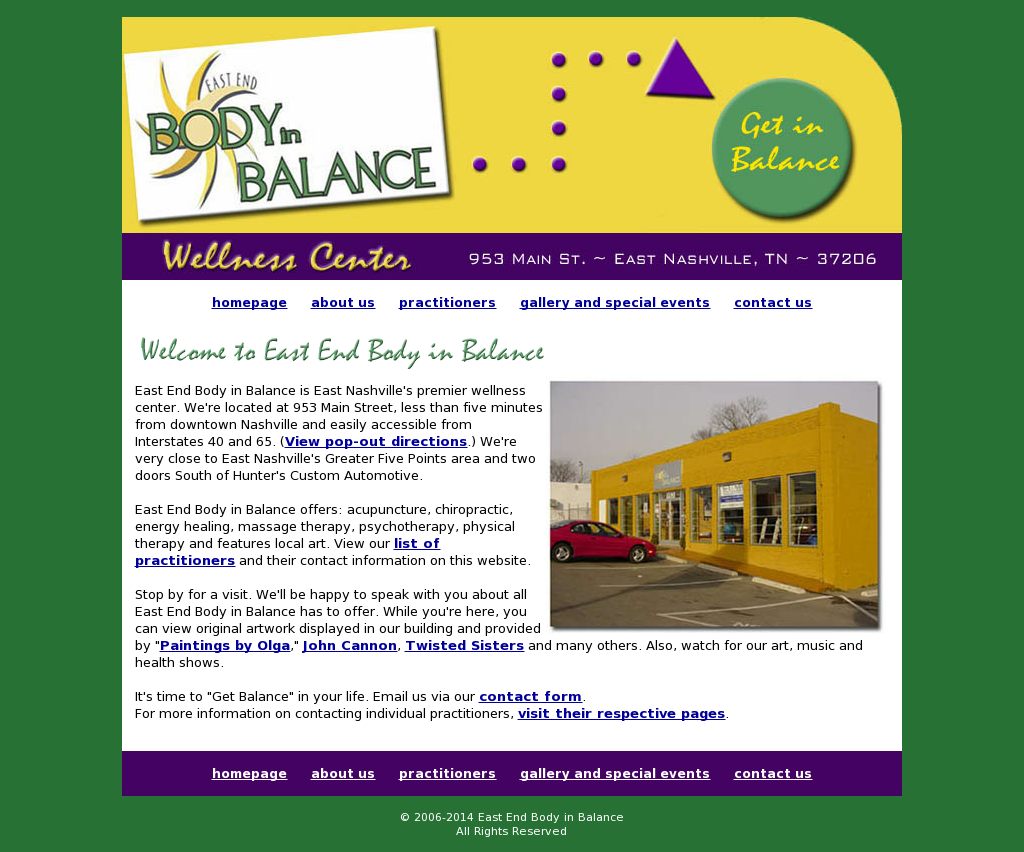 East End Body In Balance Compeors Revenue And Employees Owler Company Profile
