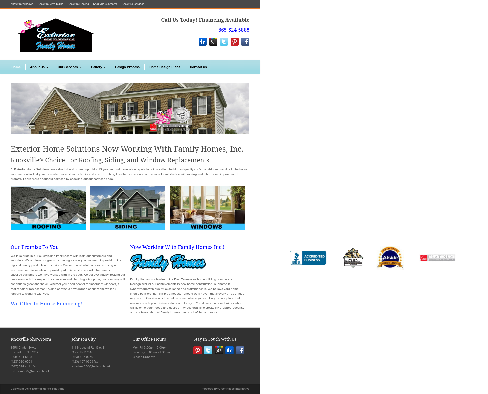 Exteriorhomesolutions Compeors Revenue And Employees Owler Company Profile