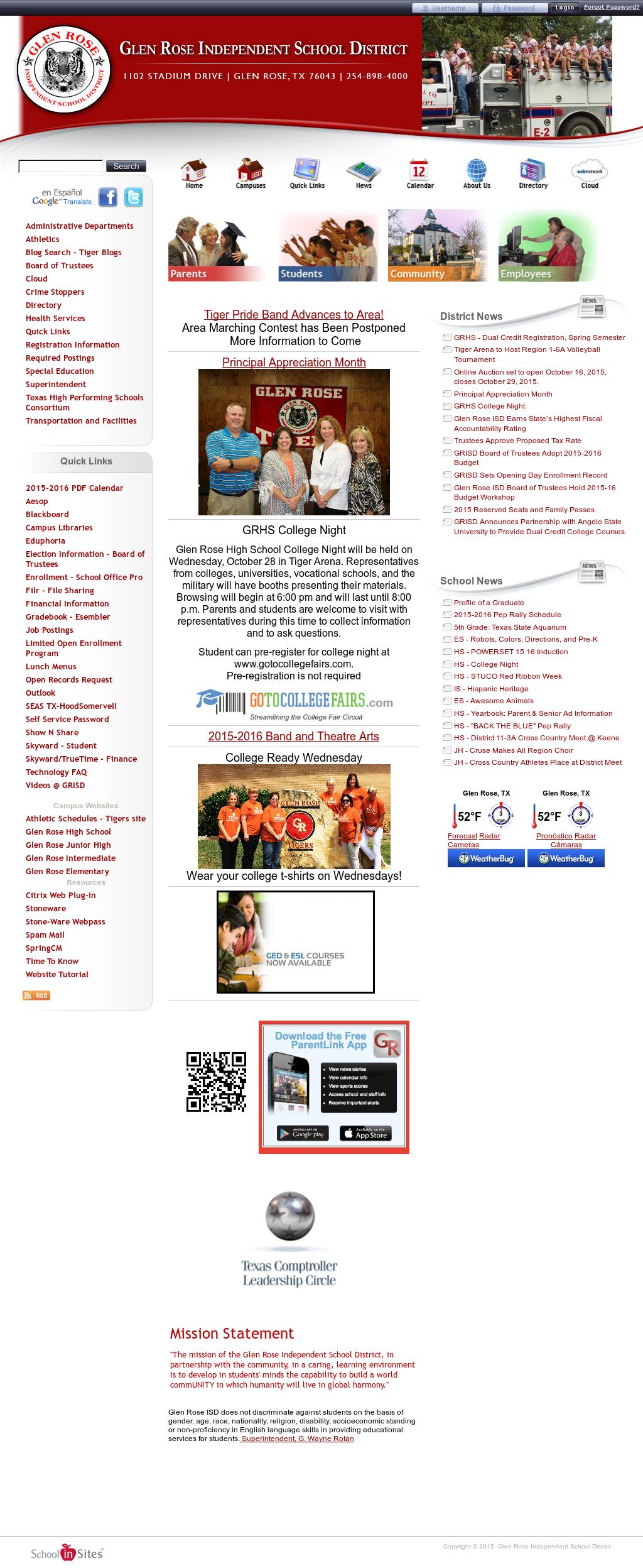 esembler online gradebook