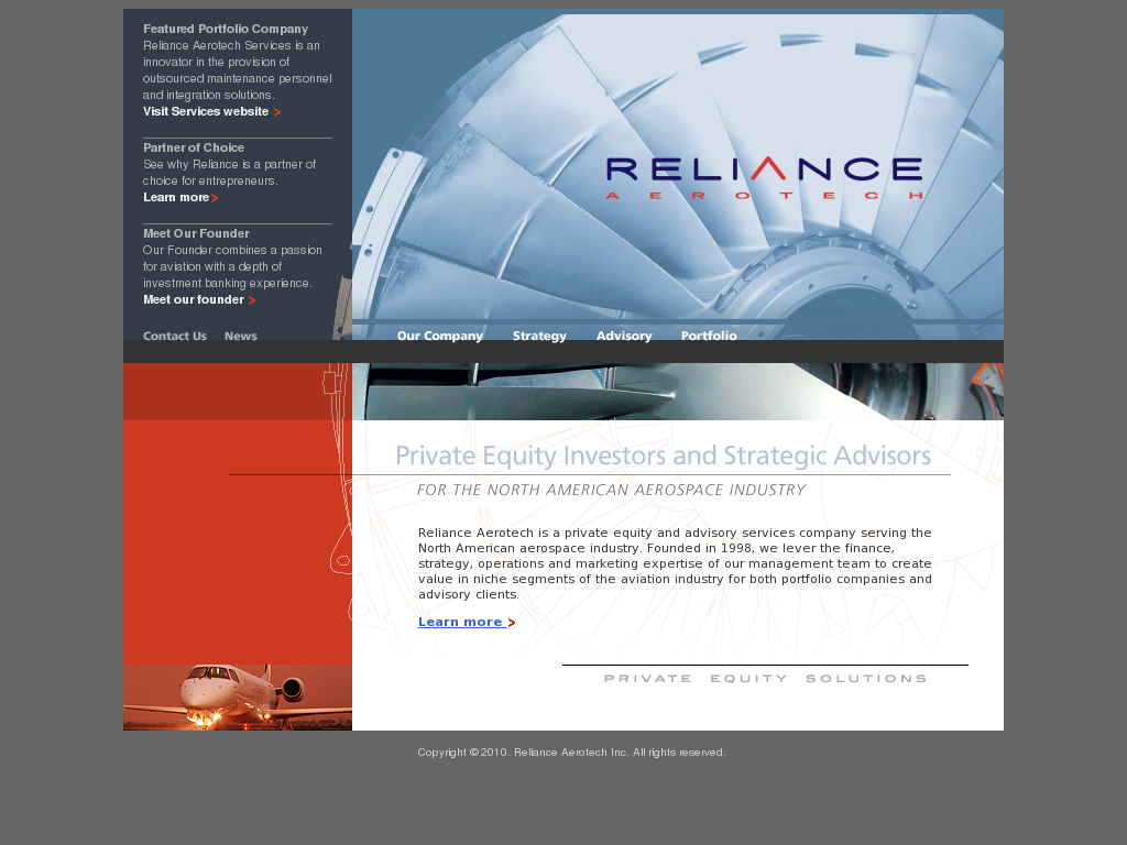 reliance aerotech service competitors revenue and employees owler company profile