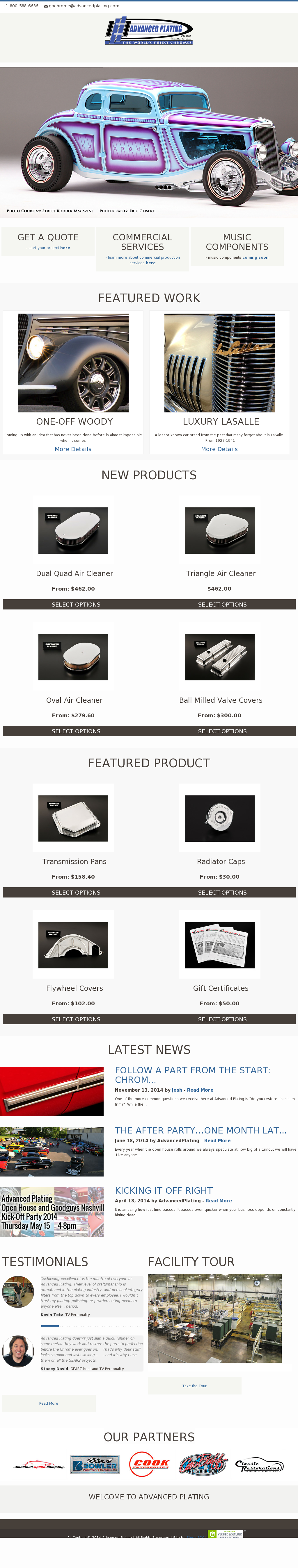 Advanced Plating & Powder Coating Competitors, Revenue and