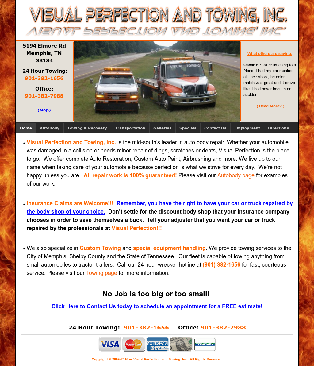 Visual Towing Competitors Revenue And Employees Owler Company Profile
