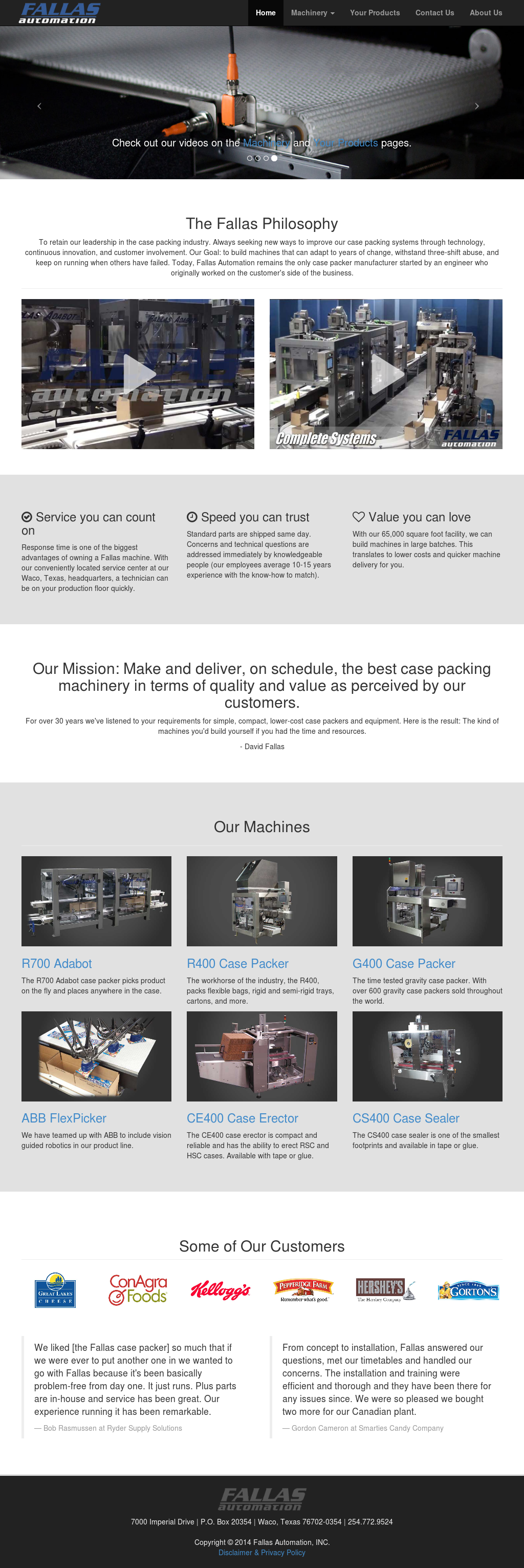 Fallas automation competitors revenue and employees owler company fallas automation website history malvernweather Gallery