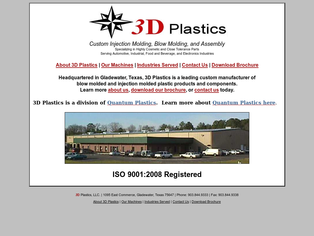 3 D Plastics Competitors, Revenue and Employees - Owler Company Profile
