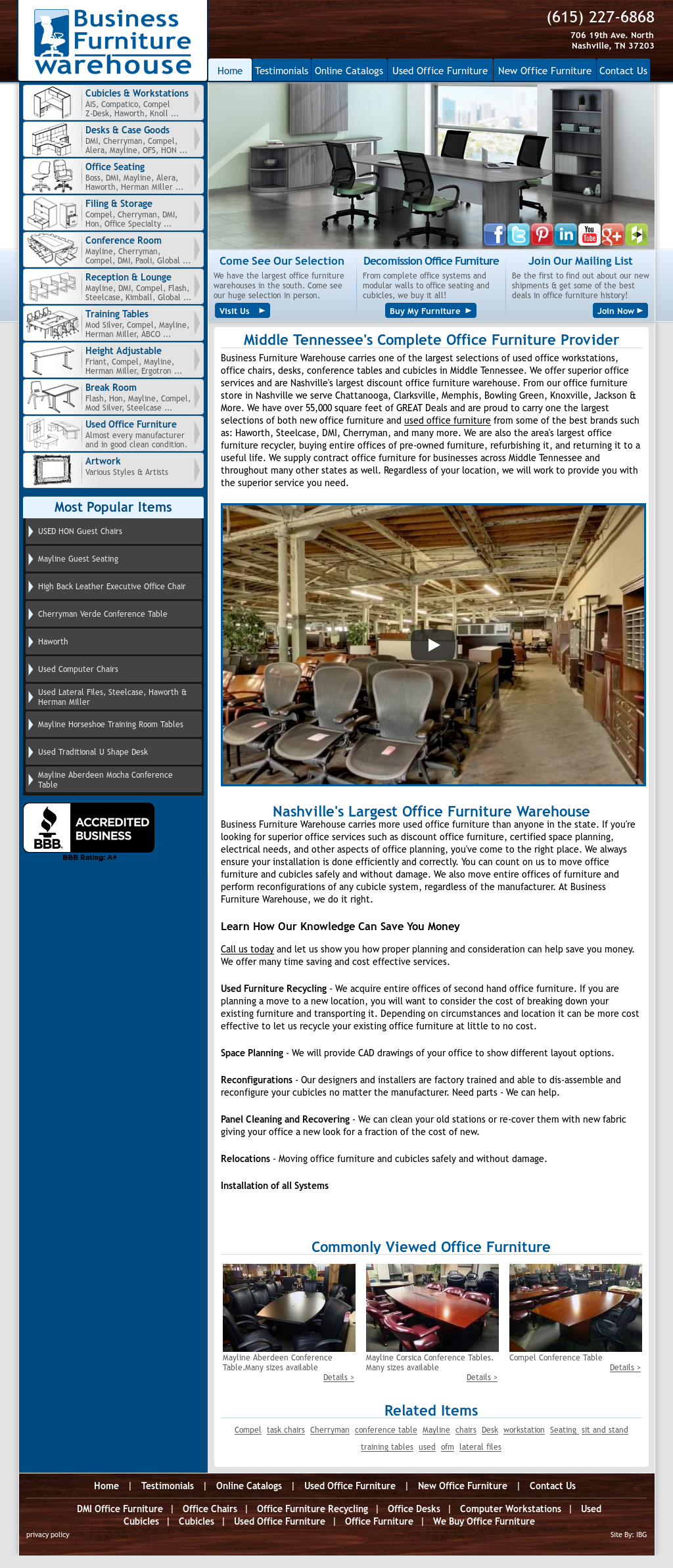 Business Furniture Warehouse Nashville Compeors Revenue And Employees Owler Company Profile