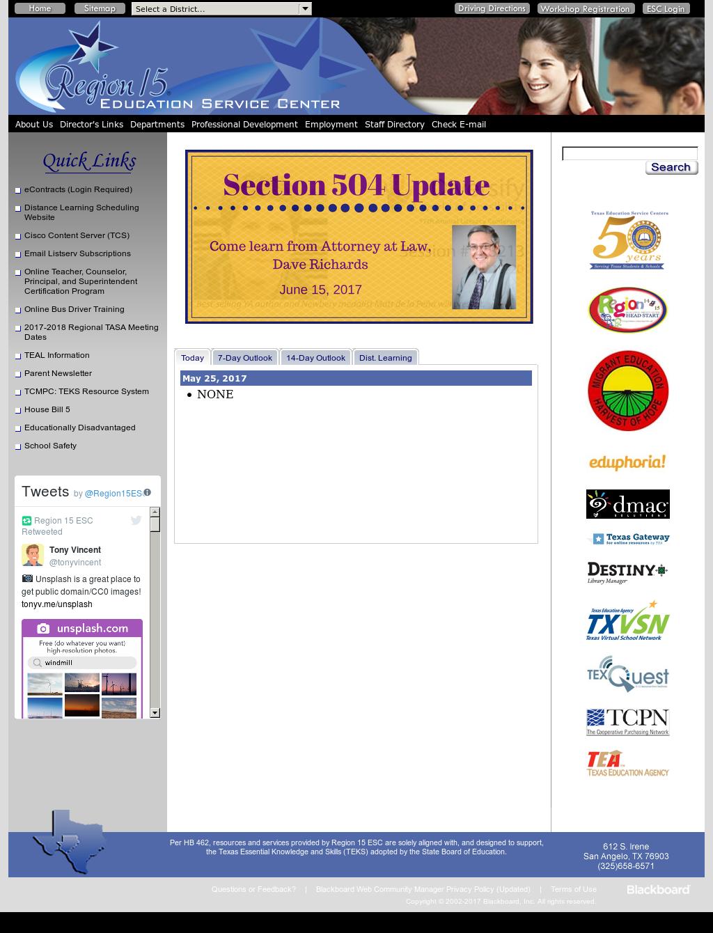 Education Service Center Region XV Competitors, Revenue and