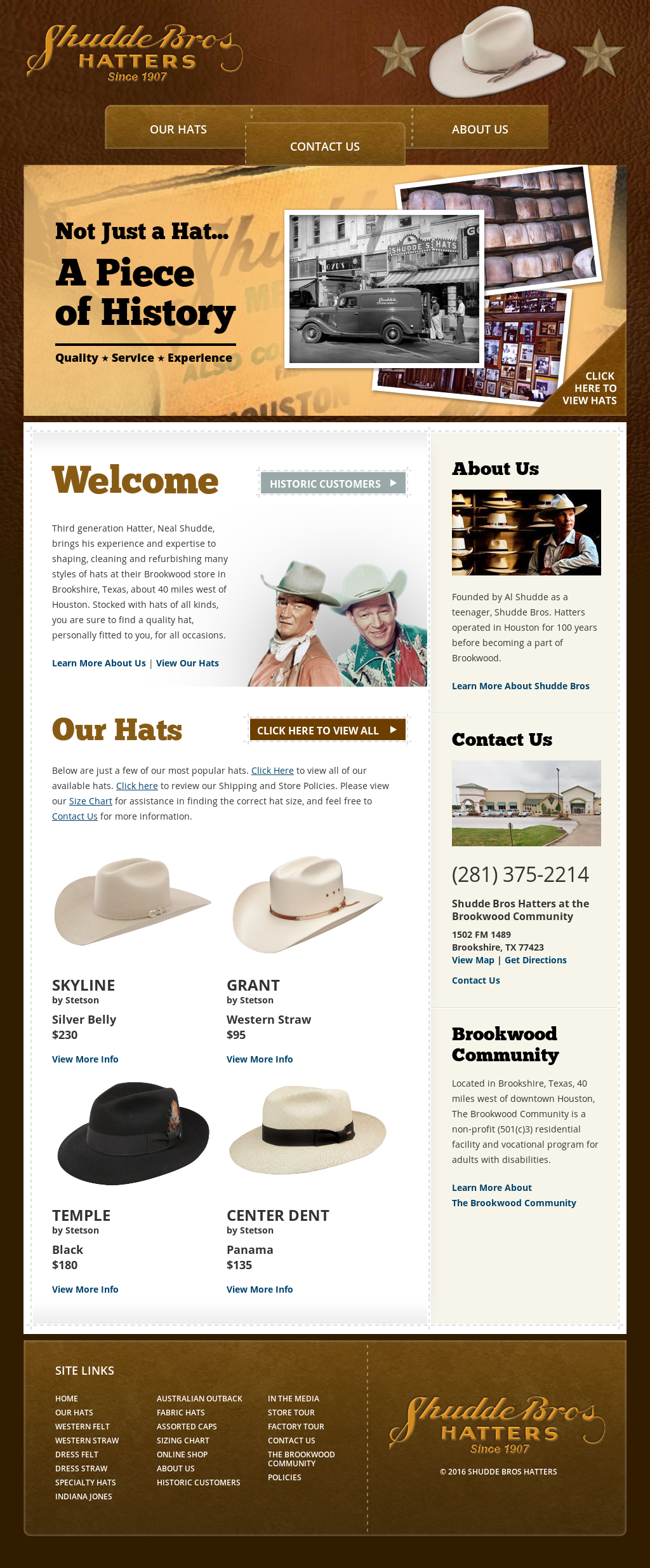 b7d89120d5aba Shudde Brothers Hat Store Competitors