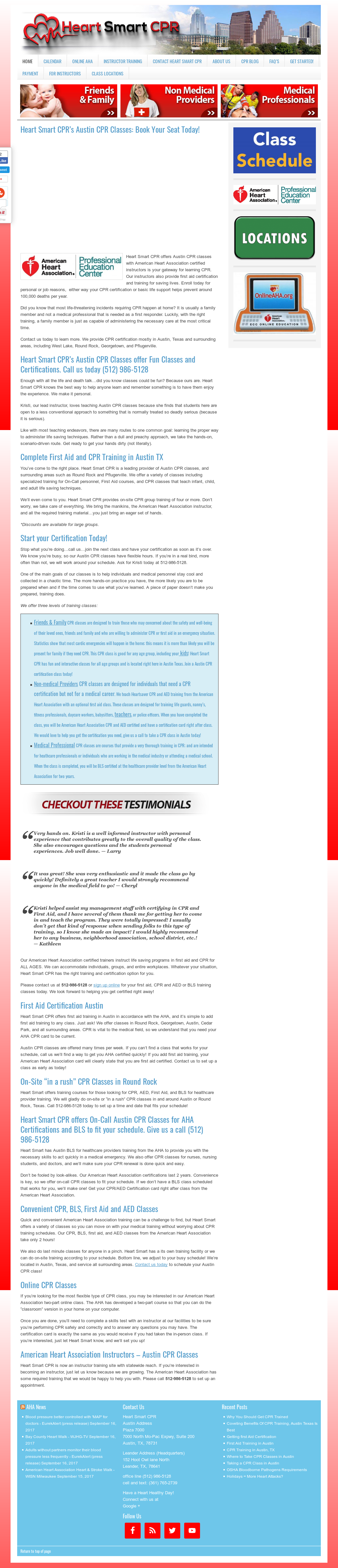 Hermosa Austin Cpr Certification Coleccin De Imgenes Cmo