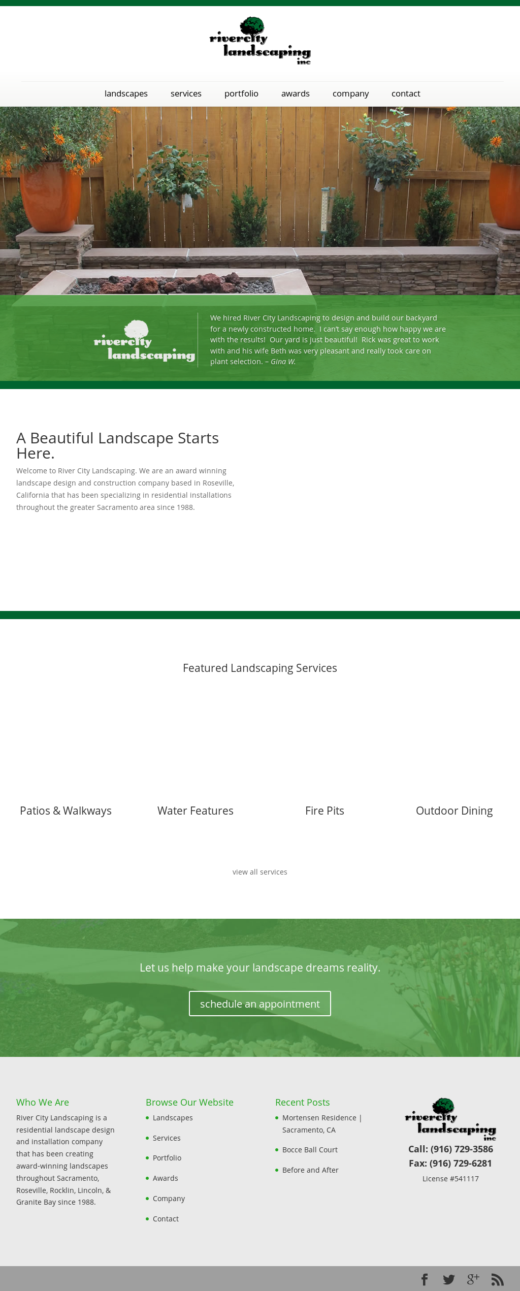 River City Landscaping website history - River City Landscaping Competitors, Revenue And Employees - Owler
