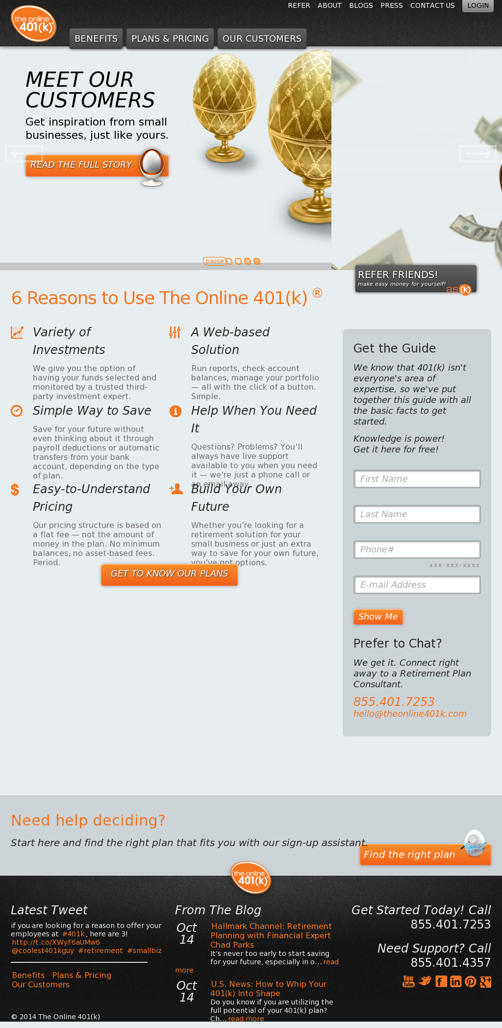 The Online 401(k) Competitors, Revenue and Employees - Owler