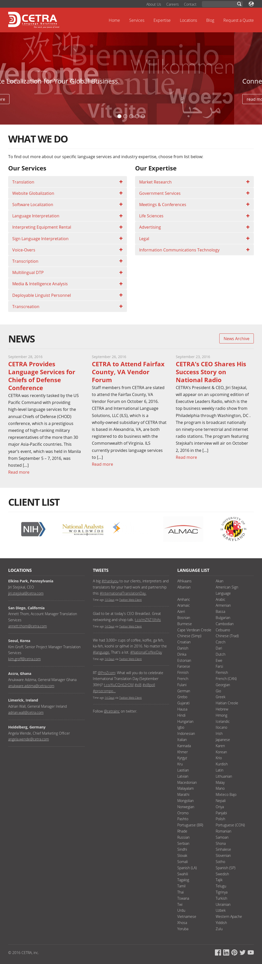 CETRA Competitors, Revenue and Employees - Owler Company Profile