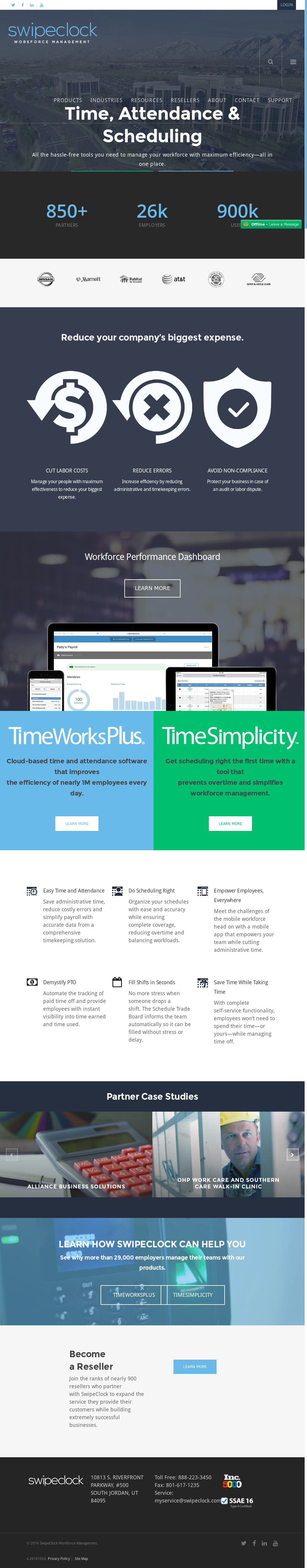 SwipeClock Competitors, Revenue and Employees - Owler Company Profile