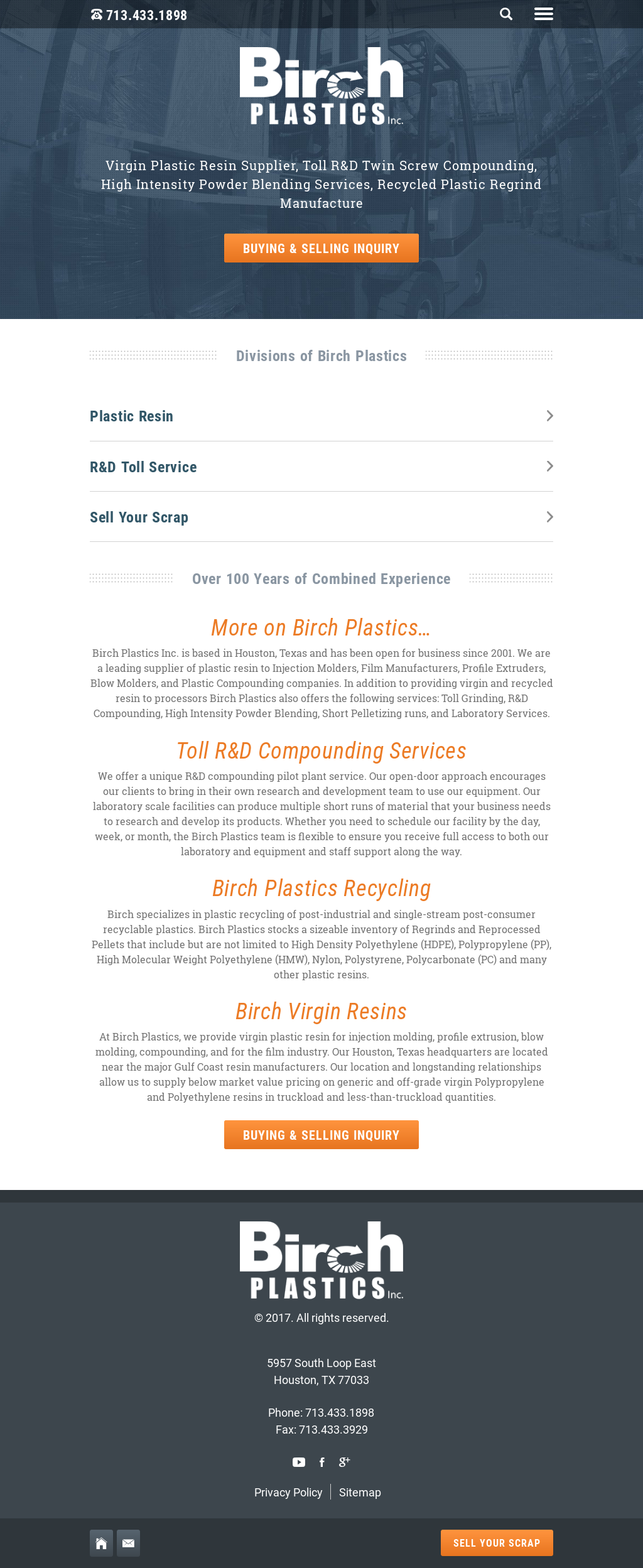 Birch Plastics Competitors, Revenue and Employees - Owler