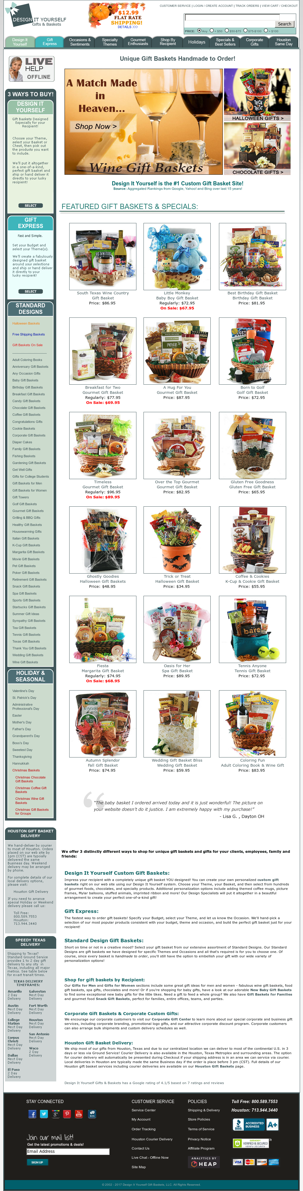 Design It Yourself Gifts Baskets Competitors Revenue And