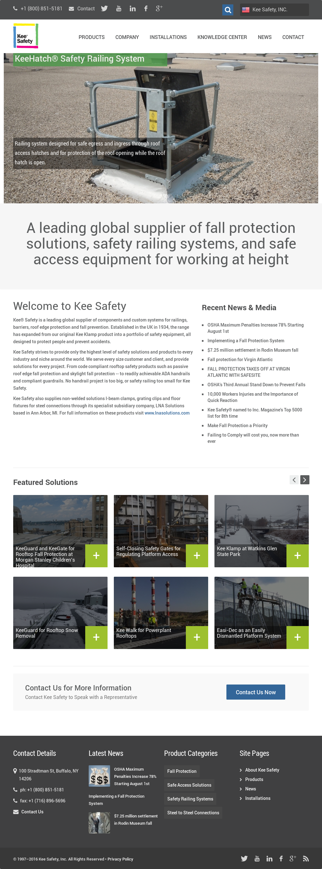 Kee Safety Competitors, Revenue and Employees - Owler