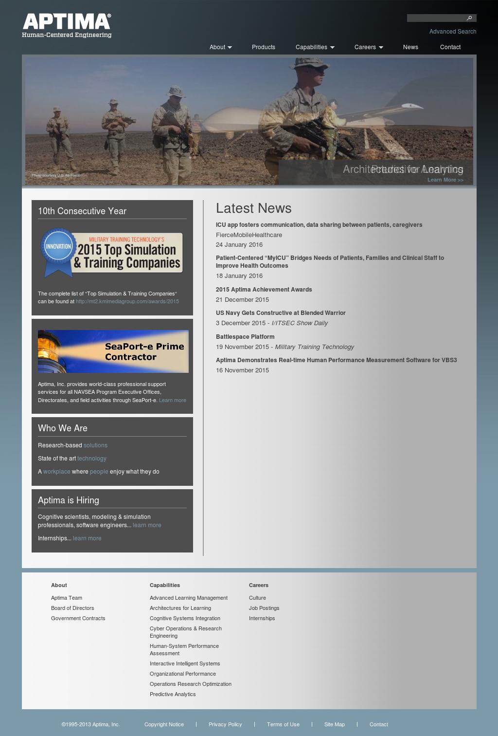 Aptima Competitors, Revenue and Employees - Owler Company Profile