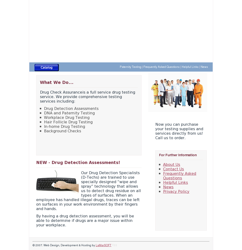 Drugtestingsolutionssa Competitors, Revenue and Employees