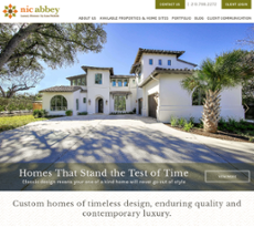 Nic Abbey Luxury Homes S Competitors Revenue Number Of Employees Funding Acquisitions News Owler Company Profile