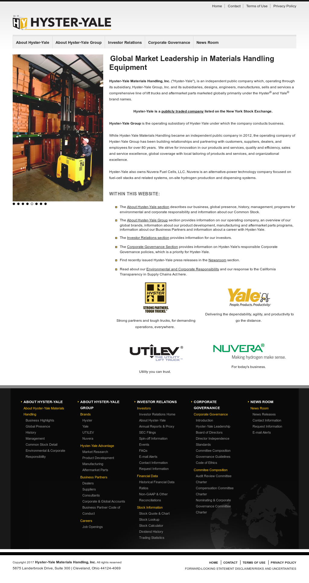 Hyster-Yale Competitors, Revenue and Employees - Owler
