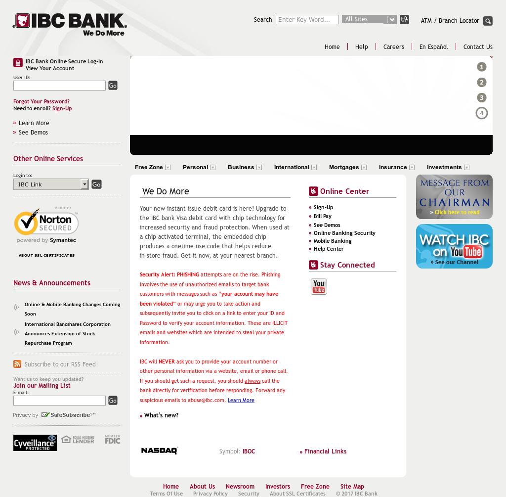 ibc bank online app