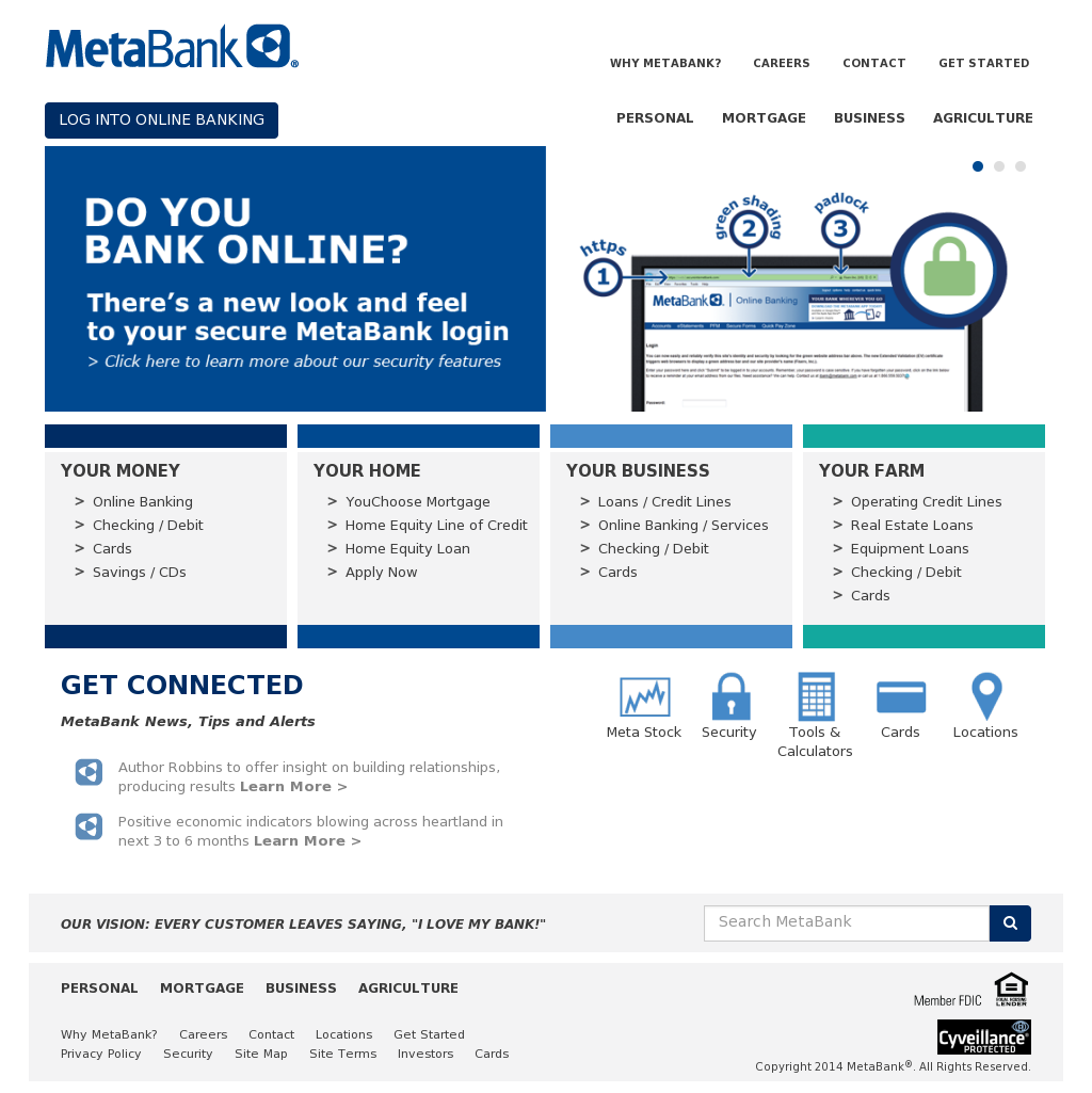 metabank 5501 south broadband lane MetaBank Competitors, Revenue and Employees - Owler Company Profile