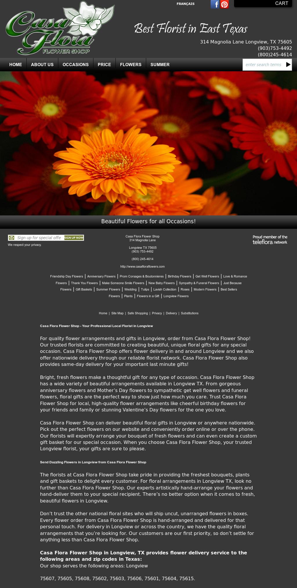 Casa Flora Flower Shop* Competitors, Revenue and Employees - Owler Company Profile