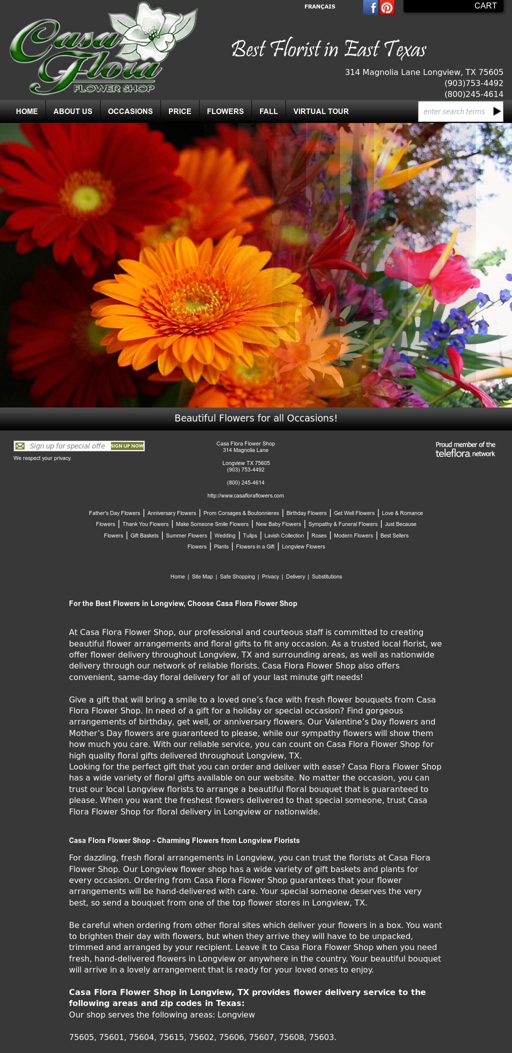 Casa Flora Flower Shop* Competitors, Revenue and Employees - Owler Company Profile