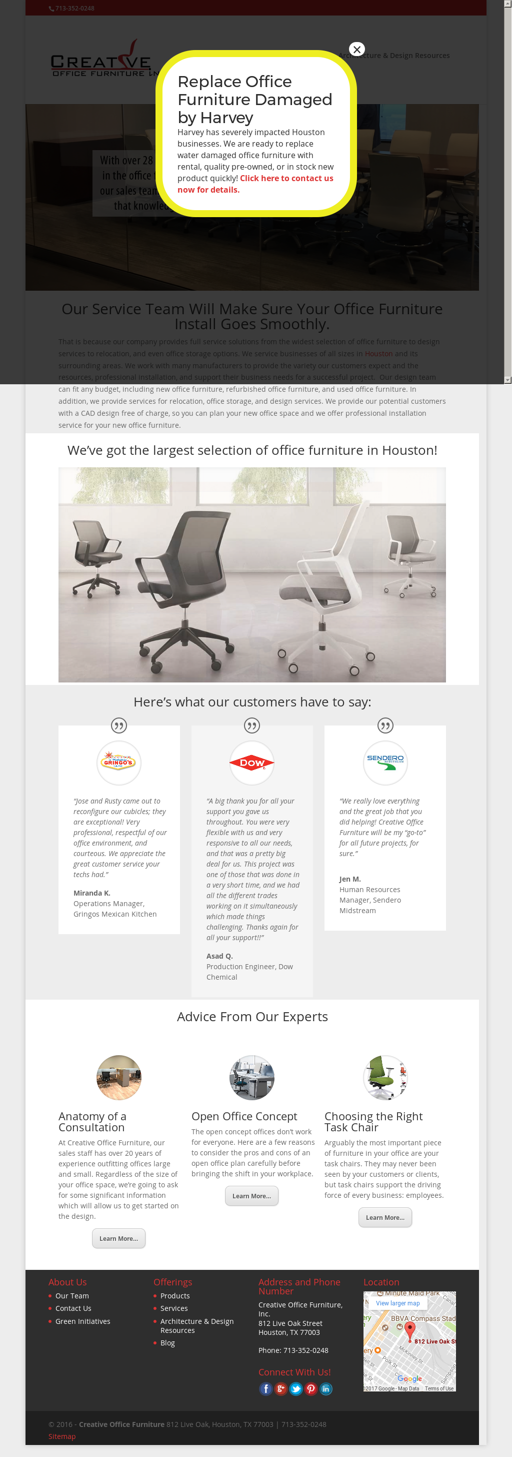creative office furniture competitors, revenue and employees - owler