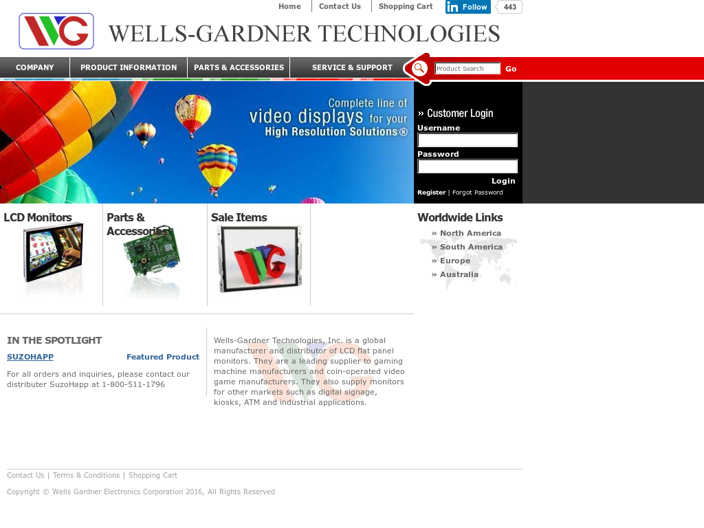 Wells gardner competitors revenue and employees owler for Gardner website