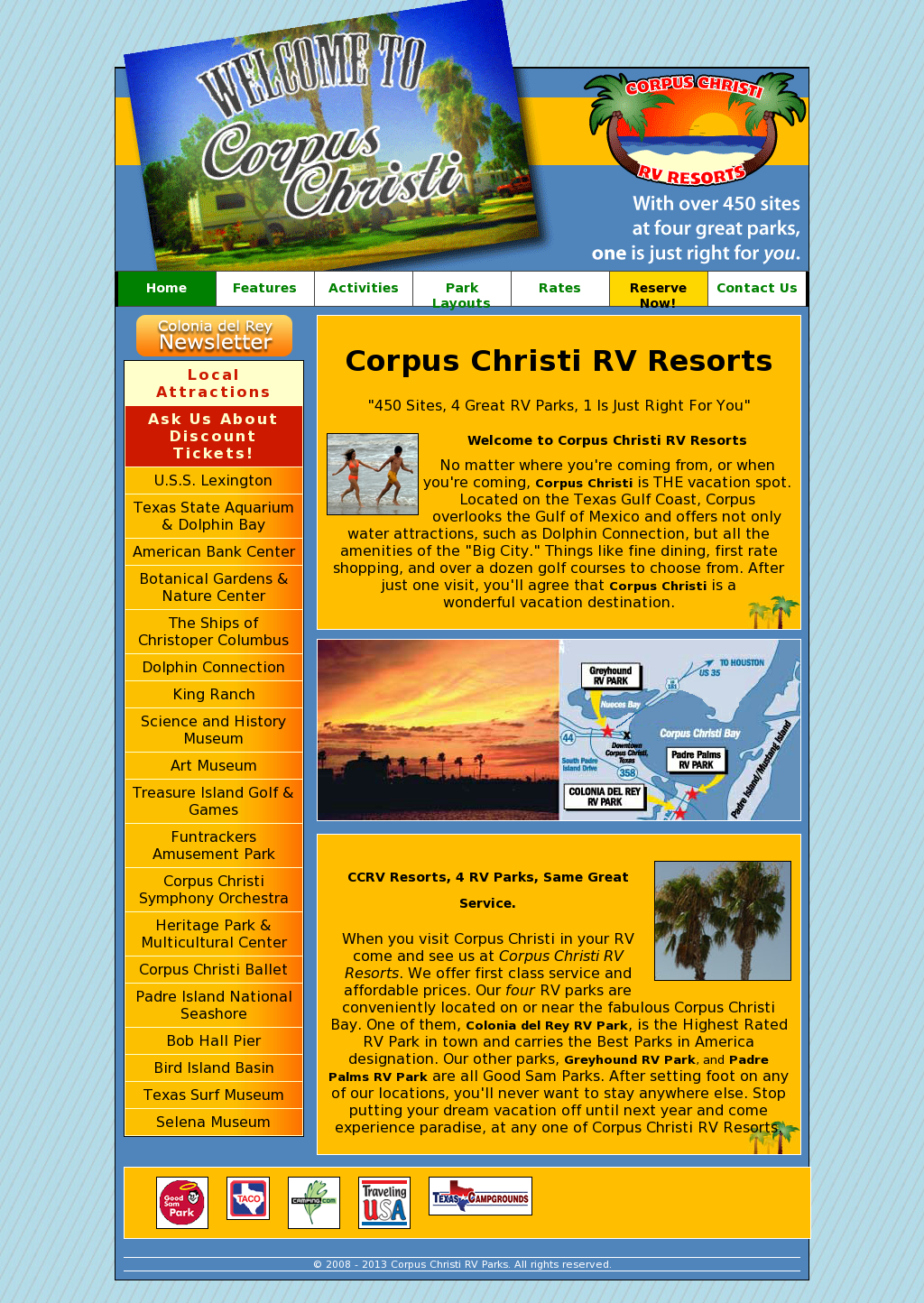Colonia Del Rey RV Park Competitors, Revenue and Employees