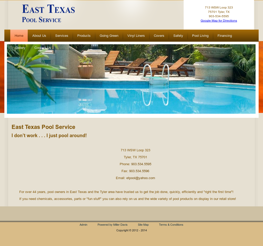 East Texas Pool Service Compeors Revenue And Employees Owler Company Profile