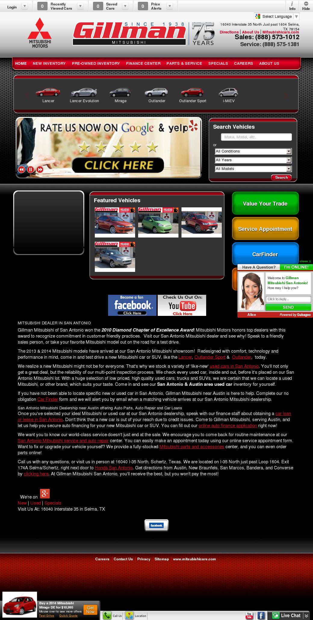 Gillman Mitsubishi Of San Antonio Competitors, Revenue And Employees    Owler Company Profile