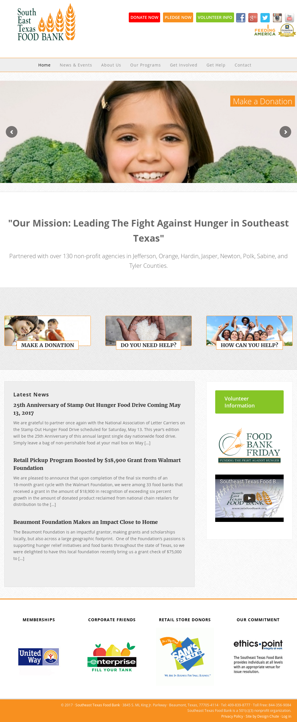 Southeast Texas Food Bank Competitors, Revenue and Employees