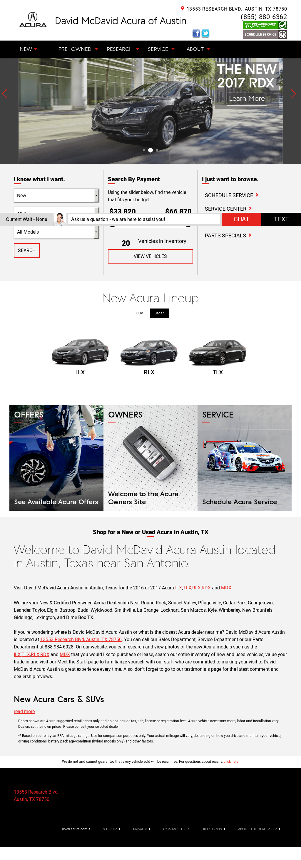 David Mcdavid Acura Austin >> David Mcdavid Acura Of Austin Competitors Revenue And Employees