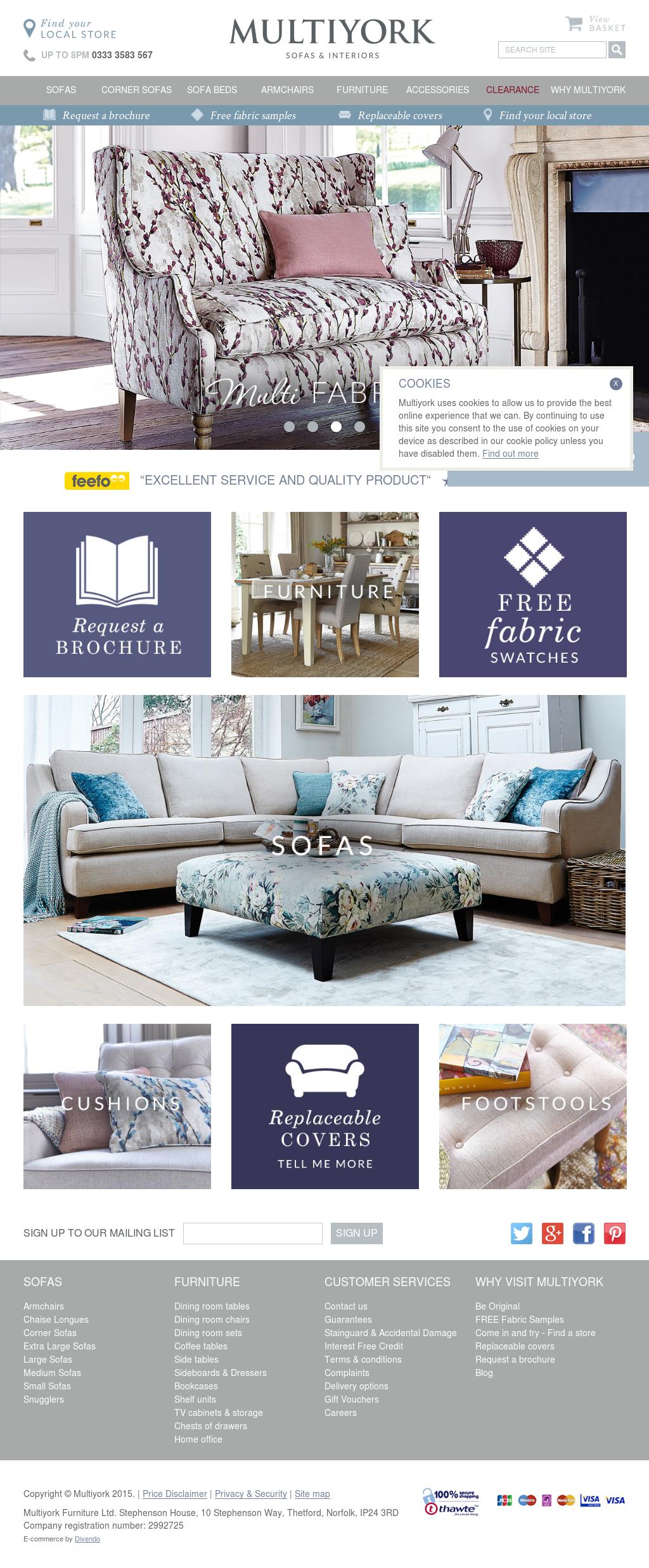 Multiyork Furniture Ltd - The Best Furniture 2017