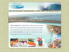 Santa Cruz Nutritionals website history