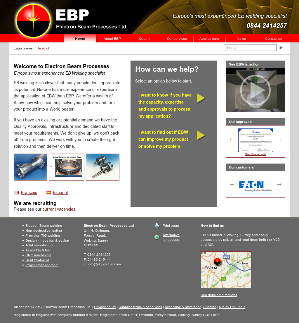 ELECTRON BEAM PROCESSES LIMITED Competitors, Revenue and Employees