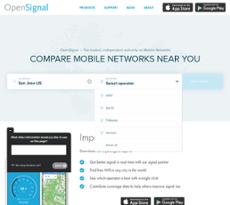 OpenSignal website history