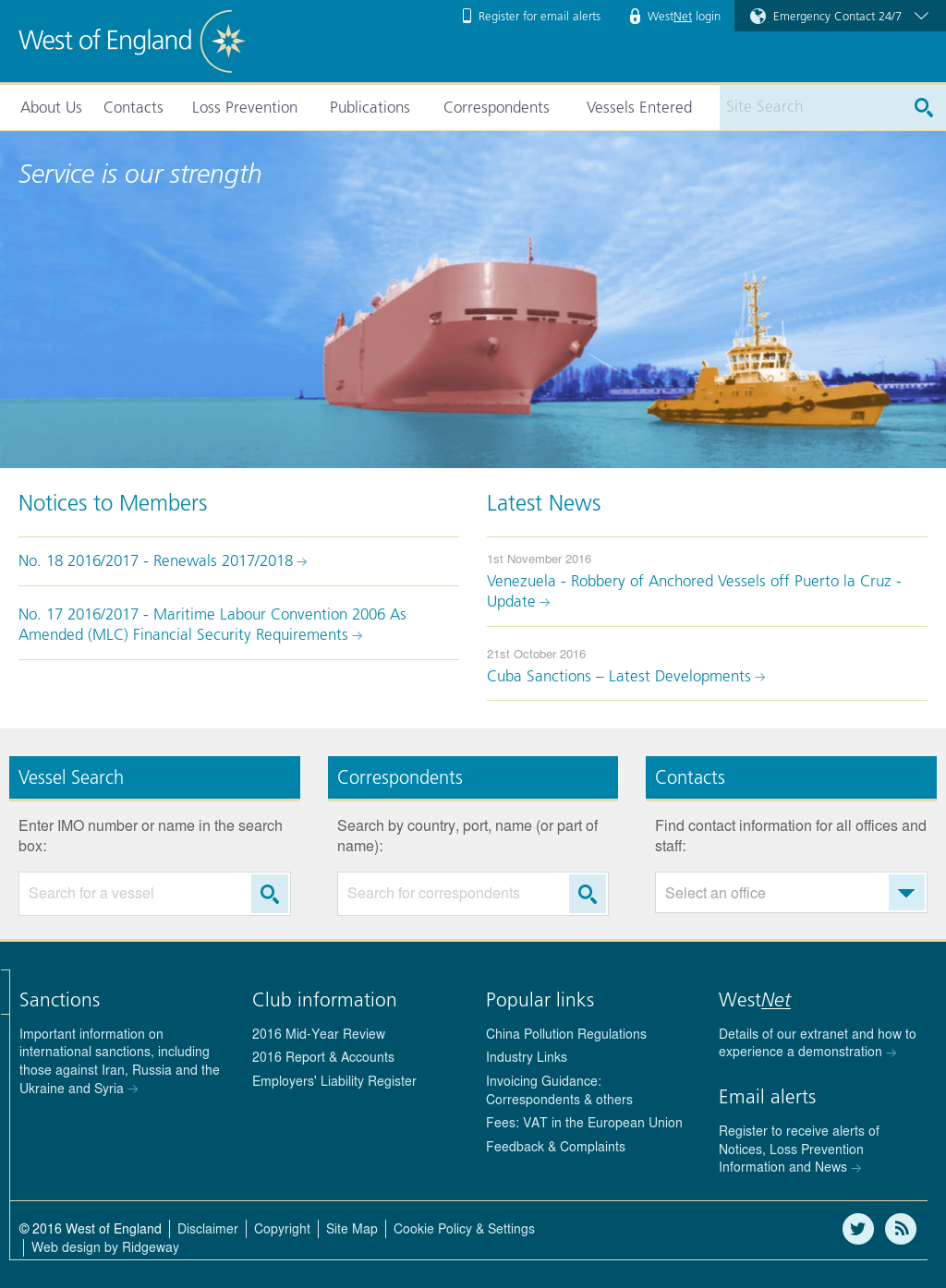 The West of England Ship Owners Insurance Competitors, Revenue and