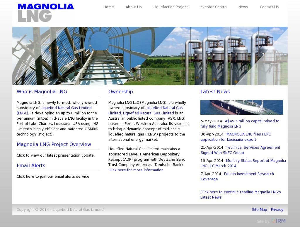 Magnolia LNG Competitors, Revenue and Employees - Owler Company Profile