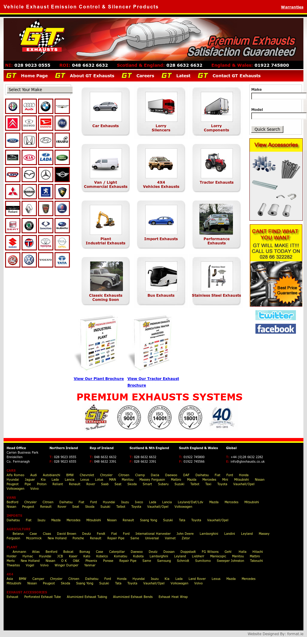 G T  EXHAUSTS (N I ) LIMITED Competitors, Revenue and Employees