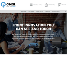 O'Neil website history