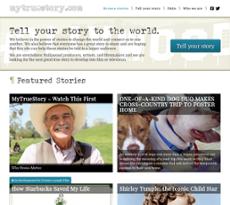 My True Story website history